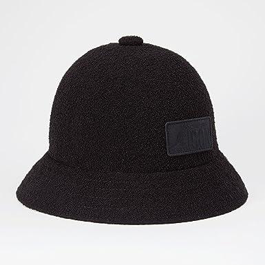 DSquared DSQ x Kangol Boucle Bucket Hat Black M  Amazon.co.uk  Clothing f102216dd6e