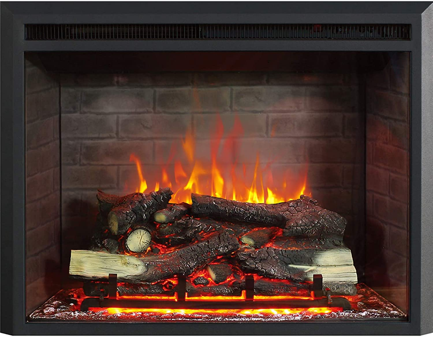 750/1500W RICHFLAME Gavin 26 Inches Electric Fireplace Insert with ...