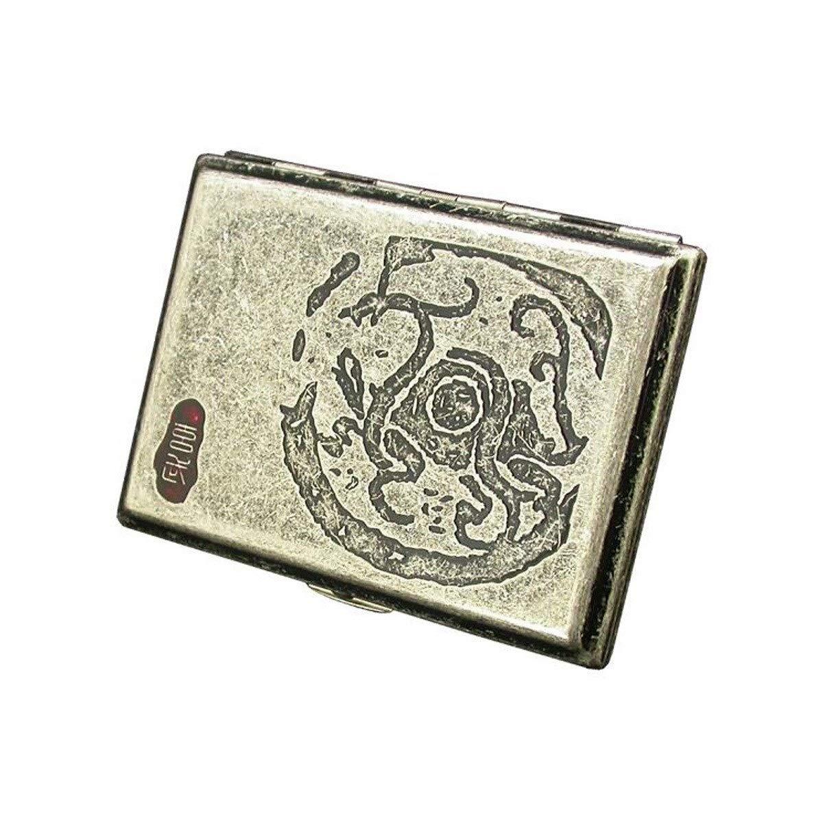 WalledKing Cigarette Case 16 Sticks, Portable Simple Retro Cigarette Case Creative Retro Copper, Ancient Beast, Suzaku, Qinglong White Tiger, Xuanwu Cigarette Case, Is The Ideal Gift For Smokers Smoke
