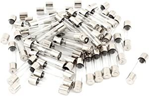 uxcell 250V 13Amp Fast Quick Blow Glass Tube Fuses 6mm x 30mm 50 Pieces
