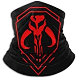 Star Wars Large Mandalorian Unisex Fleece Neck Warm Leggings Hairband Cold Weather Tube Mask Warm Neck Scarf Outdoor UV…