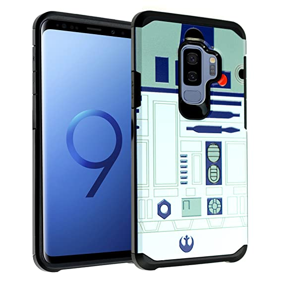 info for 81164 b323a Galaxy S9+ PLUS Star Wars R2D2 Astromech Droid Robot Case, DURARMOR Dual  Layer Hybrid ShockProof Slim Fit Armor Cover for Galaxy S9 PLUS (2018) Star  ...