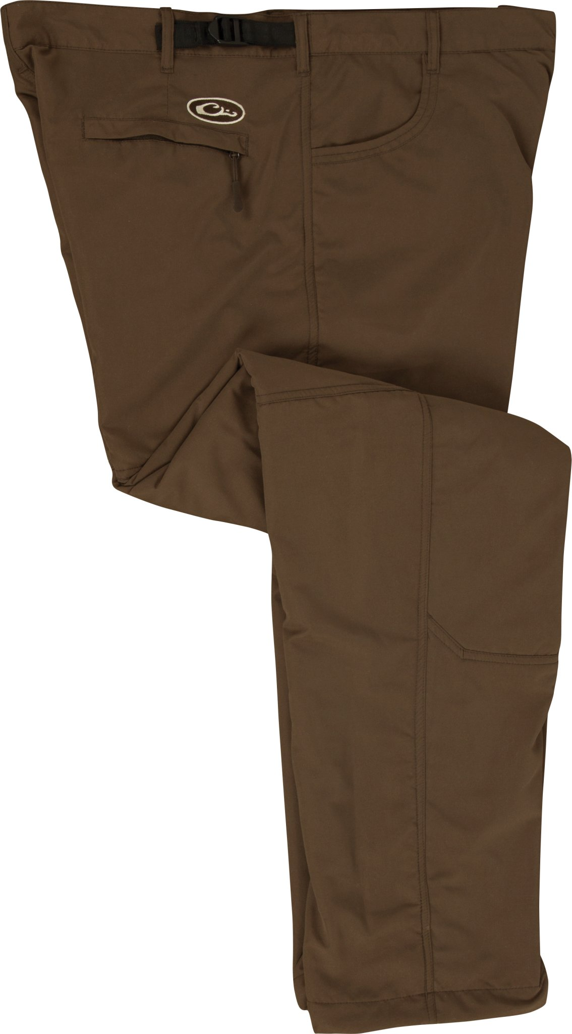 Jean Cut Under-Wader Pant - Fleece-Lined Brown Size Small