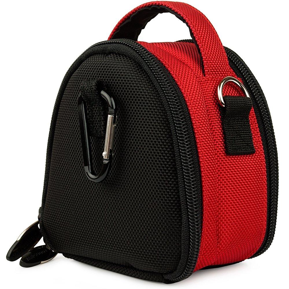 Red YI 4K Action Camera Top-Handle Handbag Camera Case by Vangoddy (Image #4)