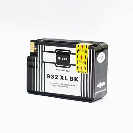 ADLUS Compatible HP 932 XL (1 BK) Gran Capacidad Cartuchos ...