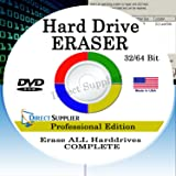 PRO Hard Drive Eraser 32/64Bit Professional Edition - Wipe your Hard Drive Securely for for ALL operating systems
