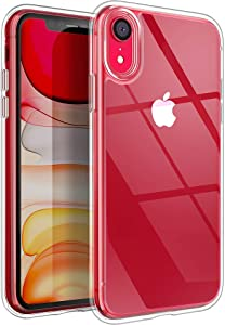 YOUMAKER Compatible with iPhone XR Case, Clear iPhone XR Cases Cover for iPhone XR 6.1 Inch