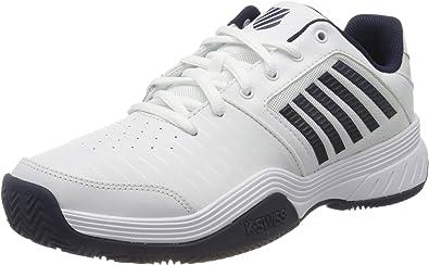 K-Swiss Performance Court Express HB, Zapatillas de Tenis para Hombre, Blanco (White/Navy 109), 45 EU: Amazon.es: Zapatos y complementos