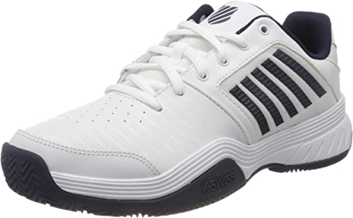 K-Swiss Performance Court Express HB, Zapatillas de Tenis para Hombre, Blanco (White/Navy 109), 44.5 EU: Amazon.es: Zapatos y complementos