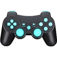 Manette de Jeu Sans Fil avec Double Shock Pour Sony PS3 Playstation 3 (Édition Sixaxis)