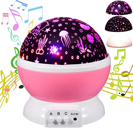Worth Purple Baby Night Light Egg Light Children Toy with Batteries for Kids Bedroom Christmas Gift