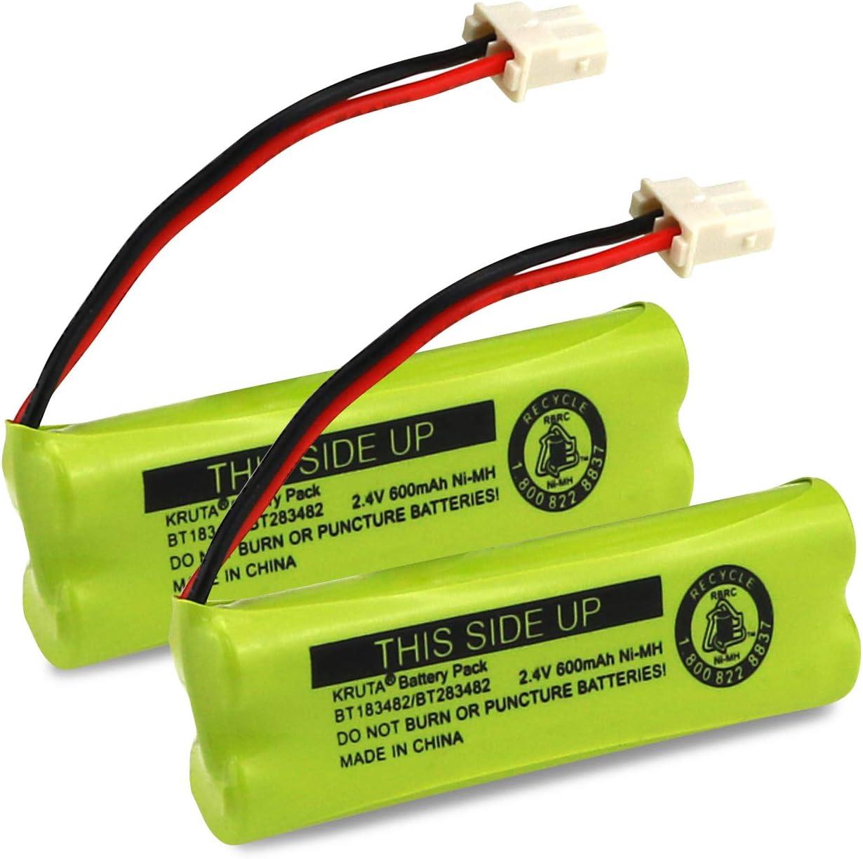 2 baterias BT183482 BT283482 para Vtech DS6401 DS6421 DS6422