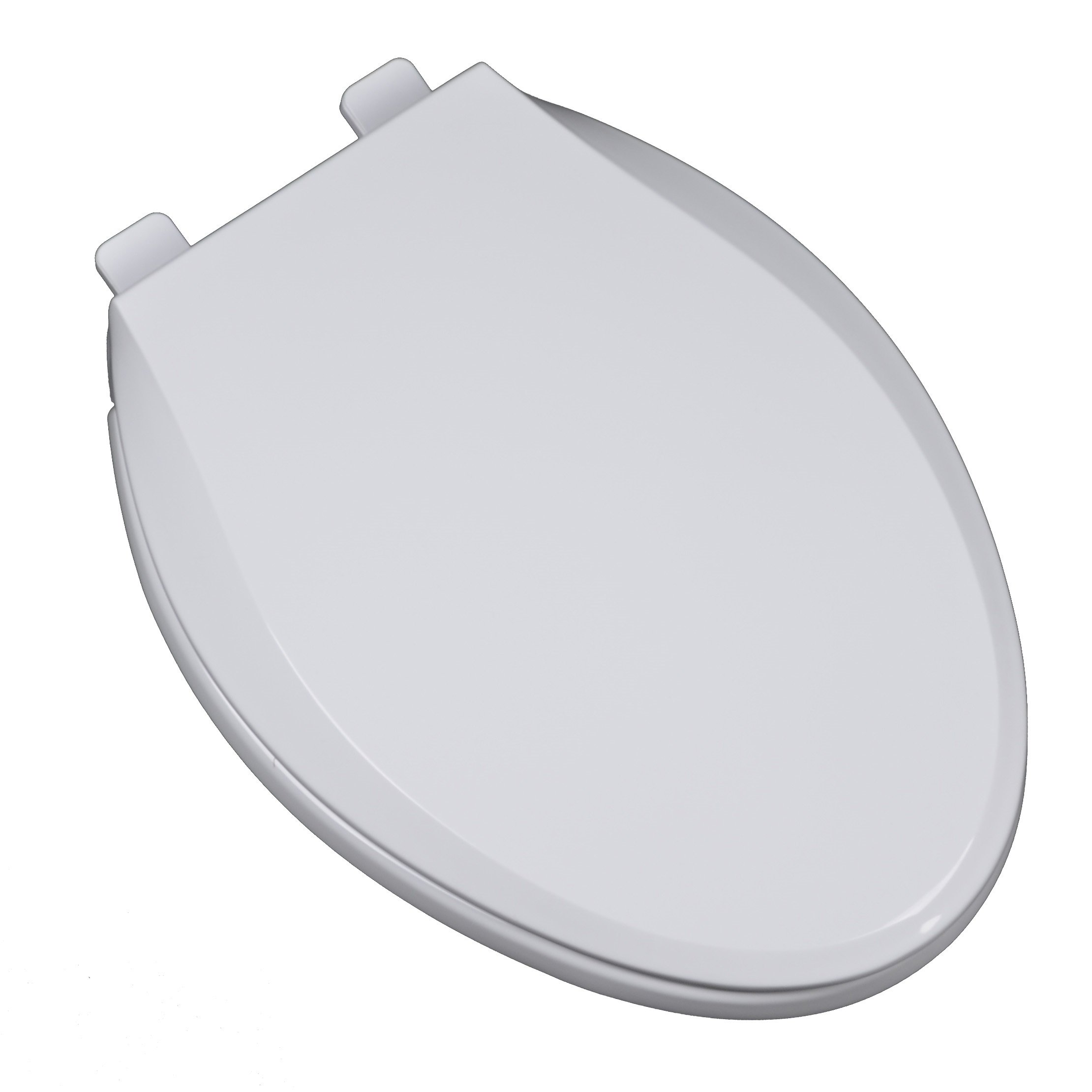 Bath Décor 3F1E2-00 Light Commercial Heavy Duty Plastic Slow Close Elongated Toilet Seat with Adjustable Hinge