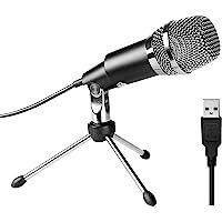 FIFINE USB Micrófono de Condensador para Skype, grabaciones para Youtube