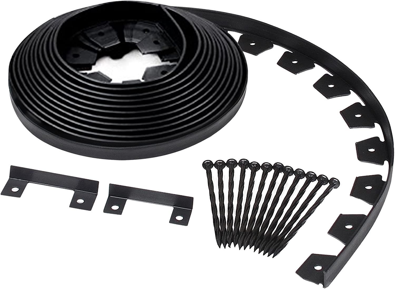 Dimex Edgepro Plastic Heavy Duty No Dig Landscape Edging Kit 40ft Coil Each Pack Of 6 3100 40c 6 Garden Outdoor