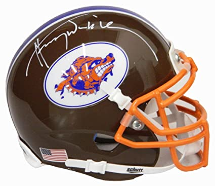 881699c7c Autographed  Signed Henry Winkler Coach Klein The Waterboy SCLSU Mud Dogs  Orange Football Jersey