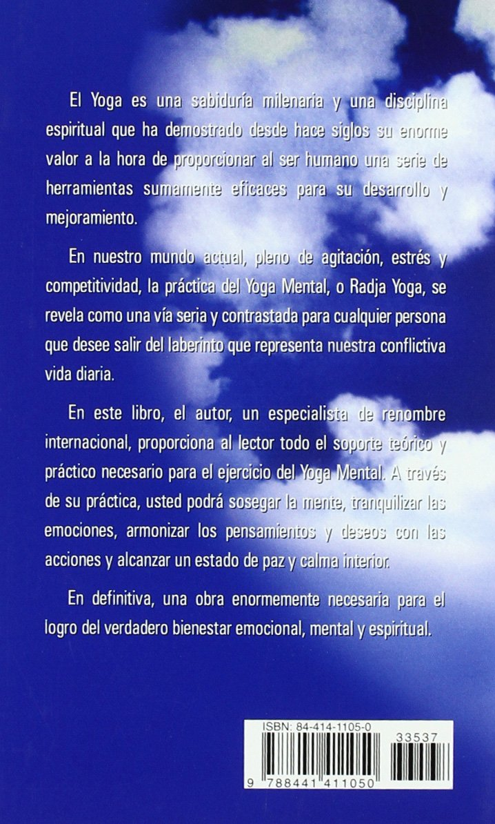 El Yoga Mental (Spanish Edition): R. Calle: 9788441411050 ...