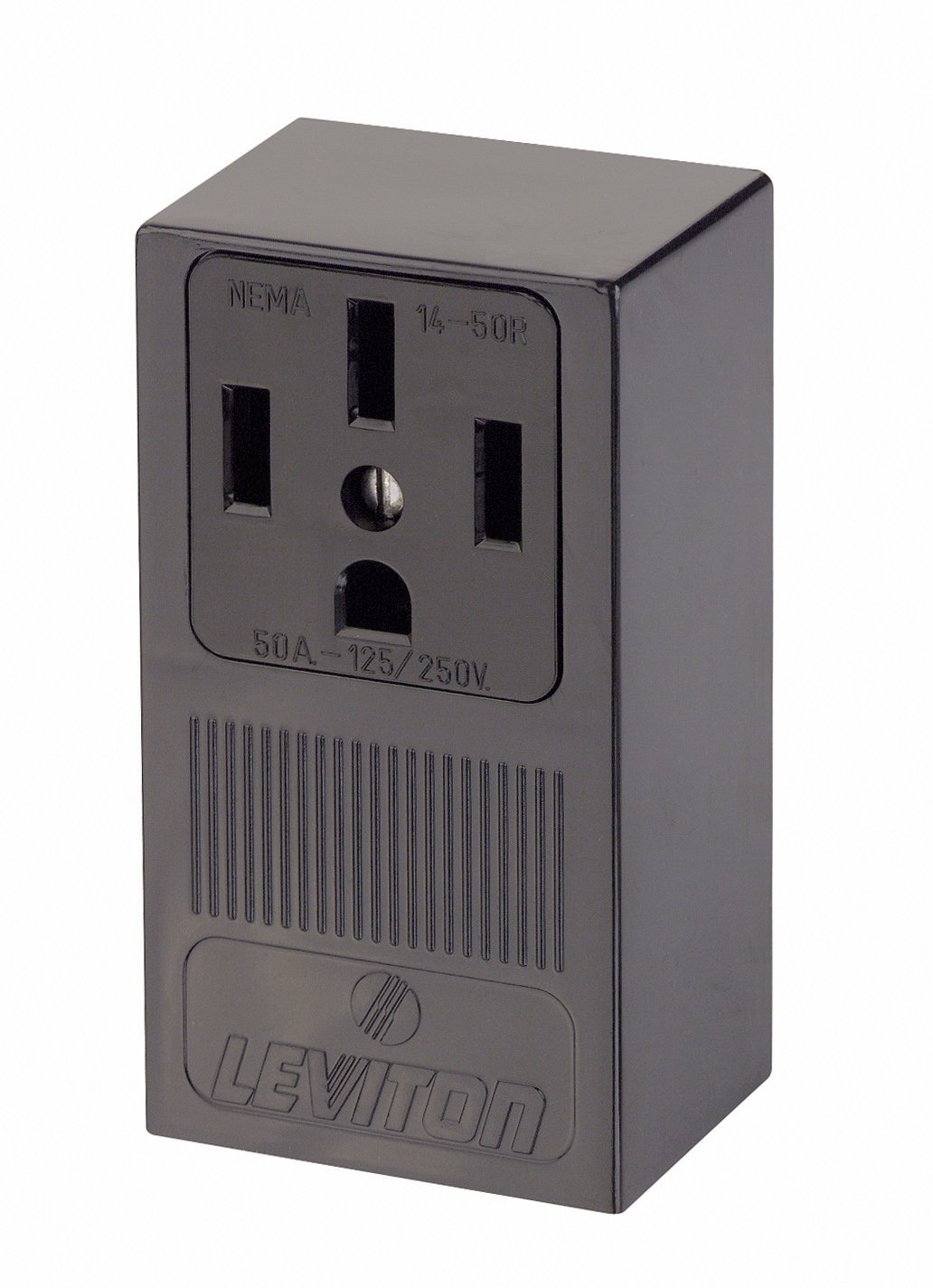 Safely Use Extension Cords When Charging An Electric Car Or Rated Electrical Box Designed To Be Used With A Range Receptacle Leviton 55050 50 Amp 125 250 Volt Nema 14 50r 3p 4w Surface Mounting Straight Blade Industrial Grade Grounding Side Wired Steel Strap