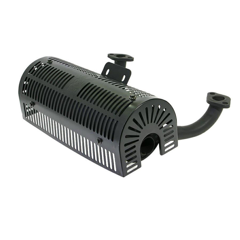 Silenciador Motores de tractor bicilindrici de 17 y 25,5 HP 708 ...