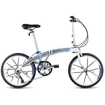 "Dahon Mu SL Bicicleta Plegable, Unisex Adulto, Gris (Mercury), 20"""