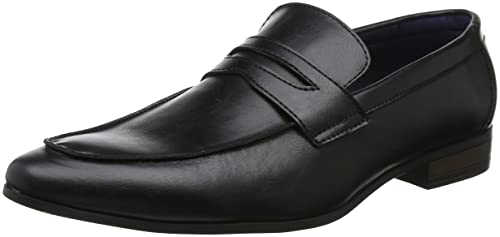 5616704 - Lets Go - Mocassins - Homme - Noir (Black 1) - 41 EU (7 UK)New Look DD55KspyqR