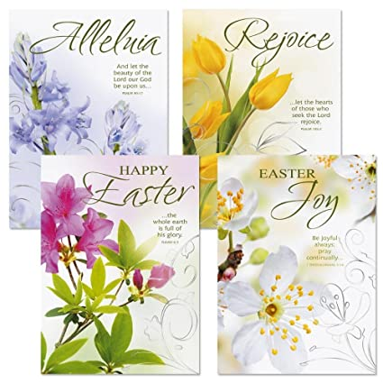Amazon deluxe joy religious easter greeting cards set of 8 deluxe joy religious easter greeting cards set of 8 2 of each m4hsunfo