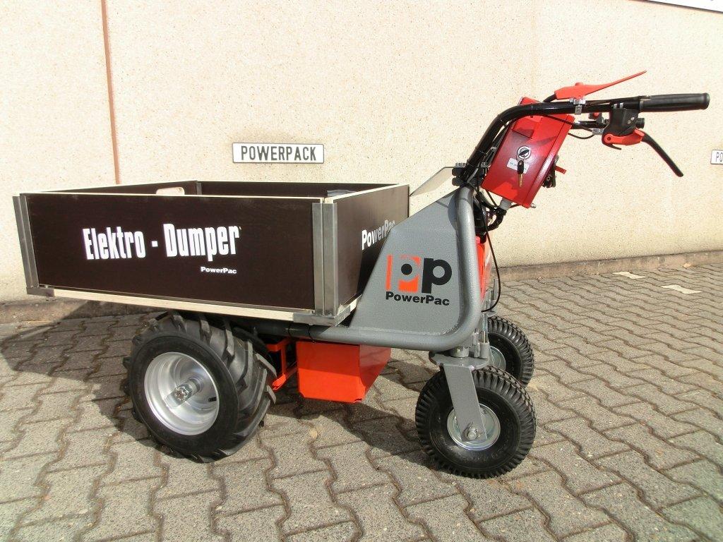 Das Original Powerpac Elektroschubkarre Dumper Mce400 Made In Germany