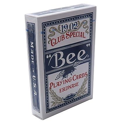 Amazon.com: erdnase 1902 Bee jugando a las cartas – azul ...
