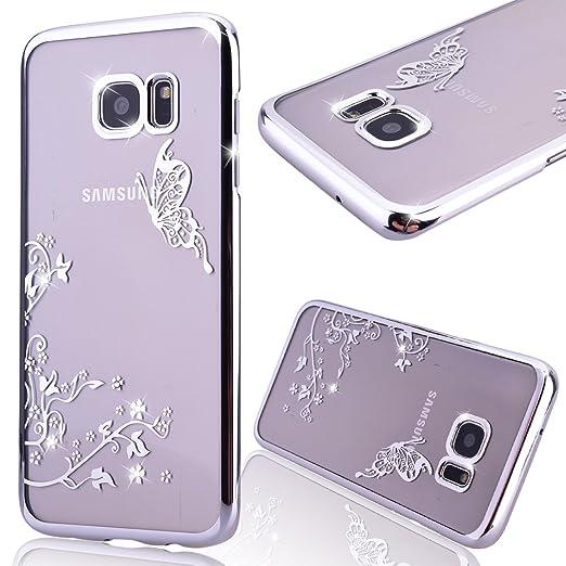21 opinioni per GrandEver Custodia Dura per Samsung Galaxy S7 Edge Cover Custodia Bumper
