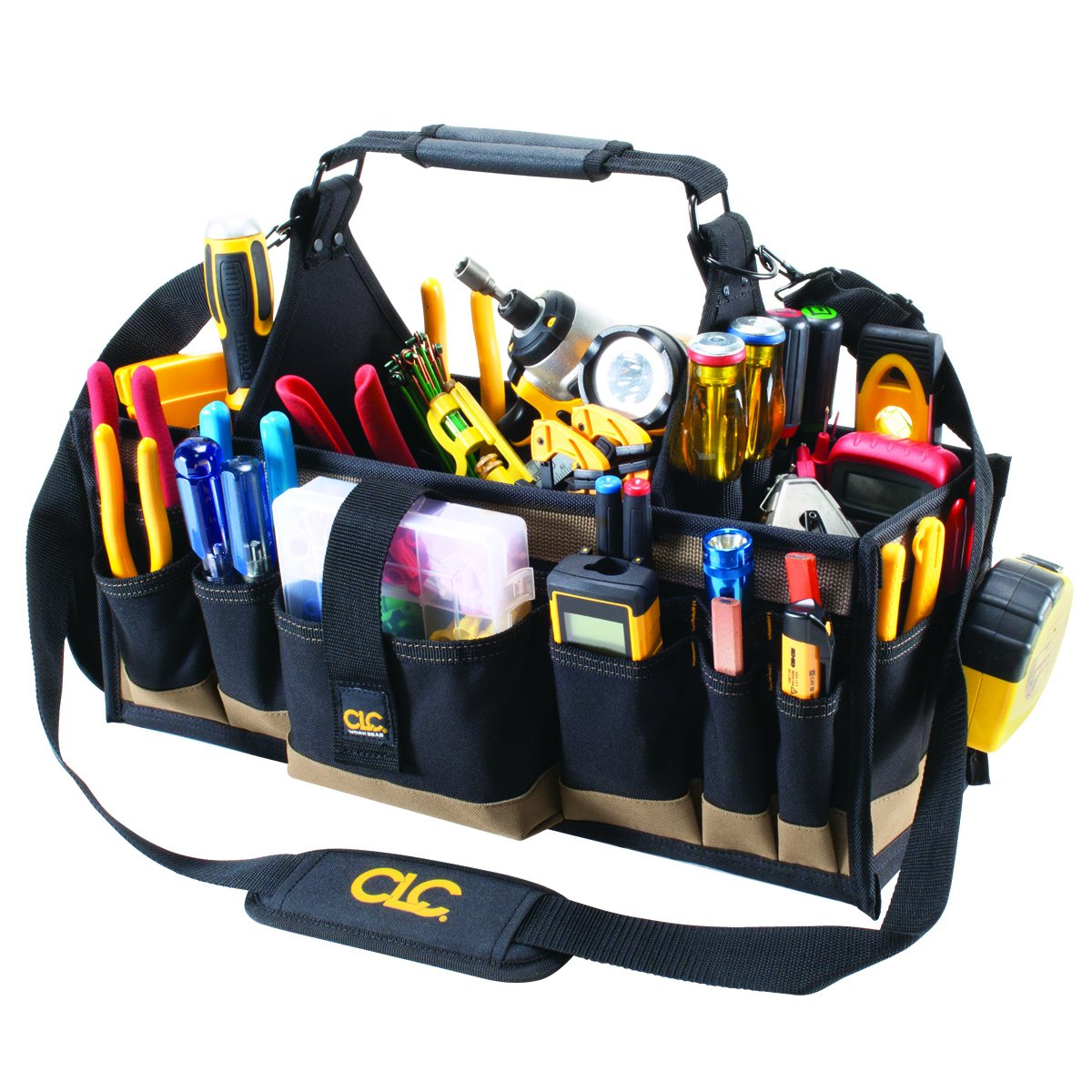 CLC Custom Leathercraft 1530 Electrical and Maintenance Tool Carrier, 43 Pocket by Custom Leathercraft