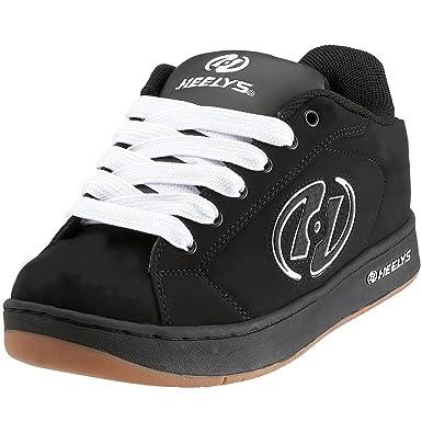 wearing heelys Adults