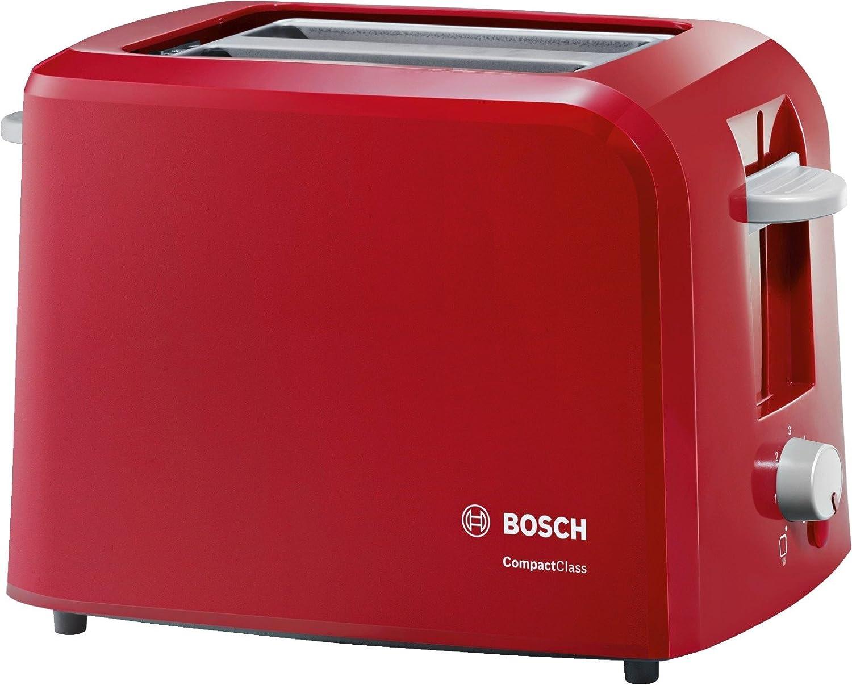 Bosch TATA Compact Class Tostador W dos ranuras extra anchas bandeja recogemigas