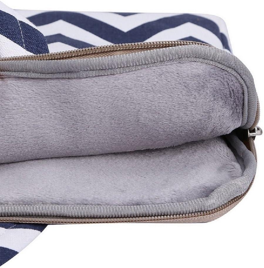 Blue Briefcase Handbag Compatible 14-15 Inch Funny live 14-15 Inch Laptop Sleeve Case Protective Case Bag Portable Laptop Sleeve Carrying Case Bag with Hidden Handle