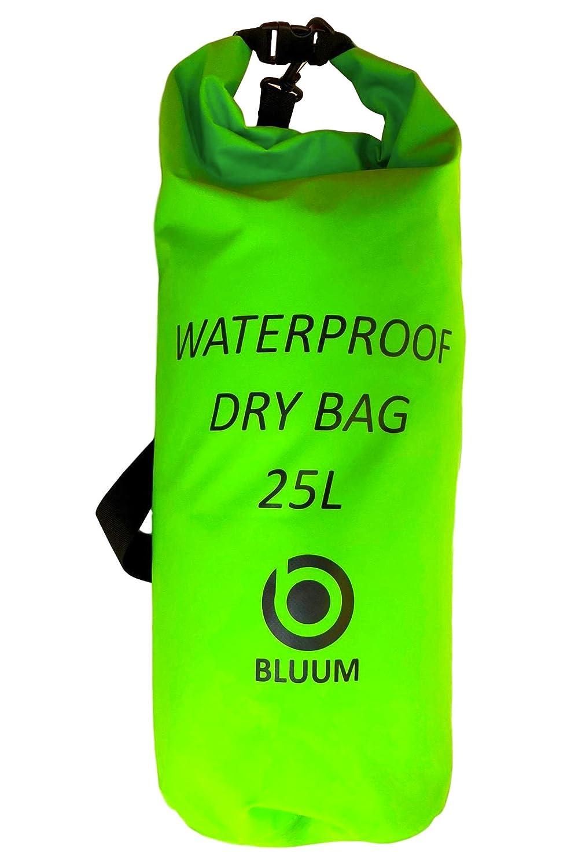 015aaa52d4 Sacca Borsa Palestra Zaino Tracolla Impermeabile Waterproof per Sport  Acquatici Resistente Grande Capiente 25 Litri Ideale per Rafting Camping  Barca Surf ...