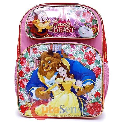 Amazon.com  Disney Beauty and the Beast School Backpack 16