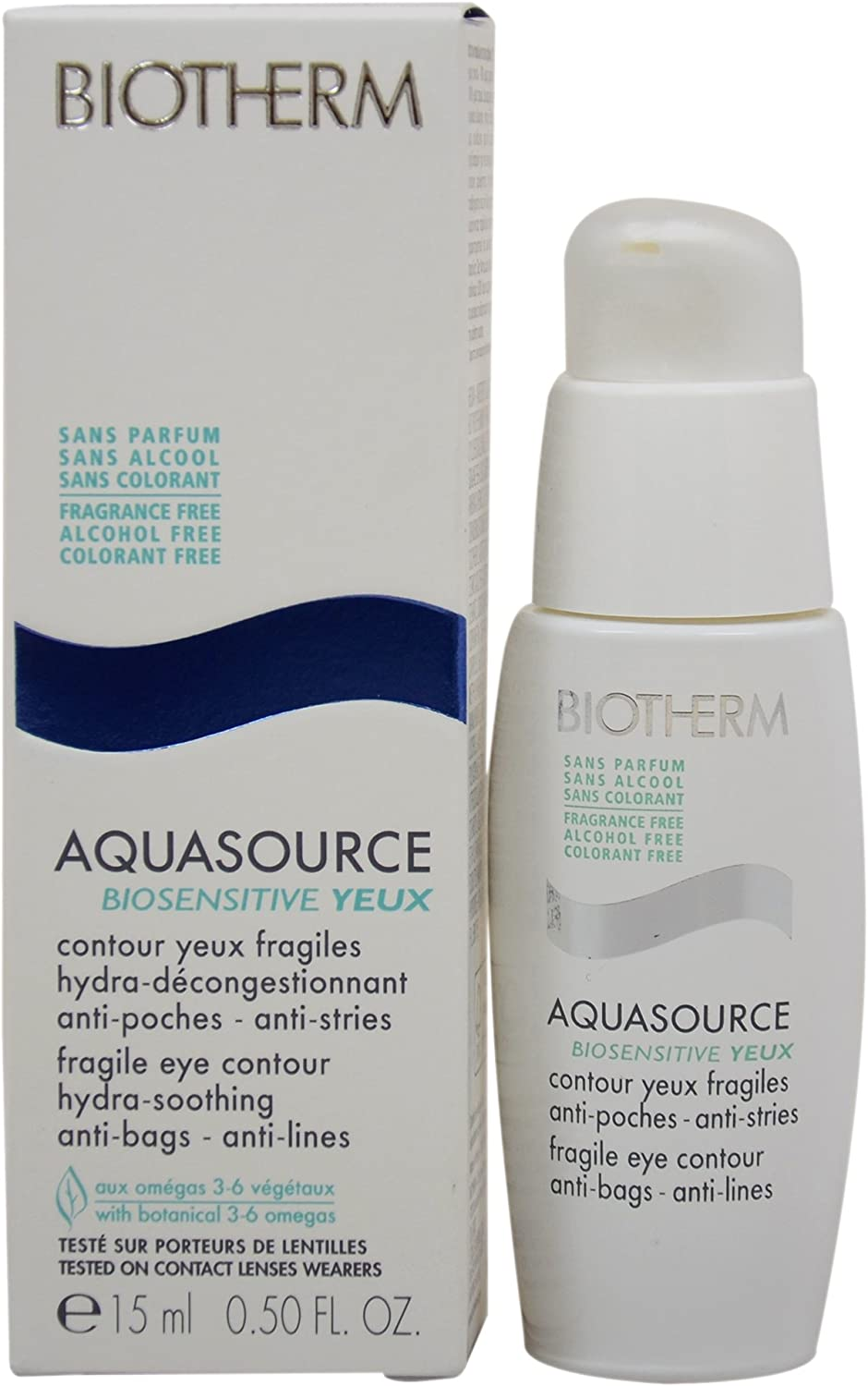 biotherm aquasource biosensitive yeux