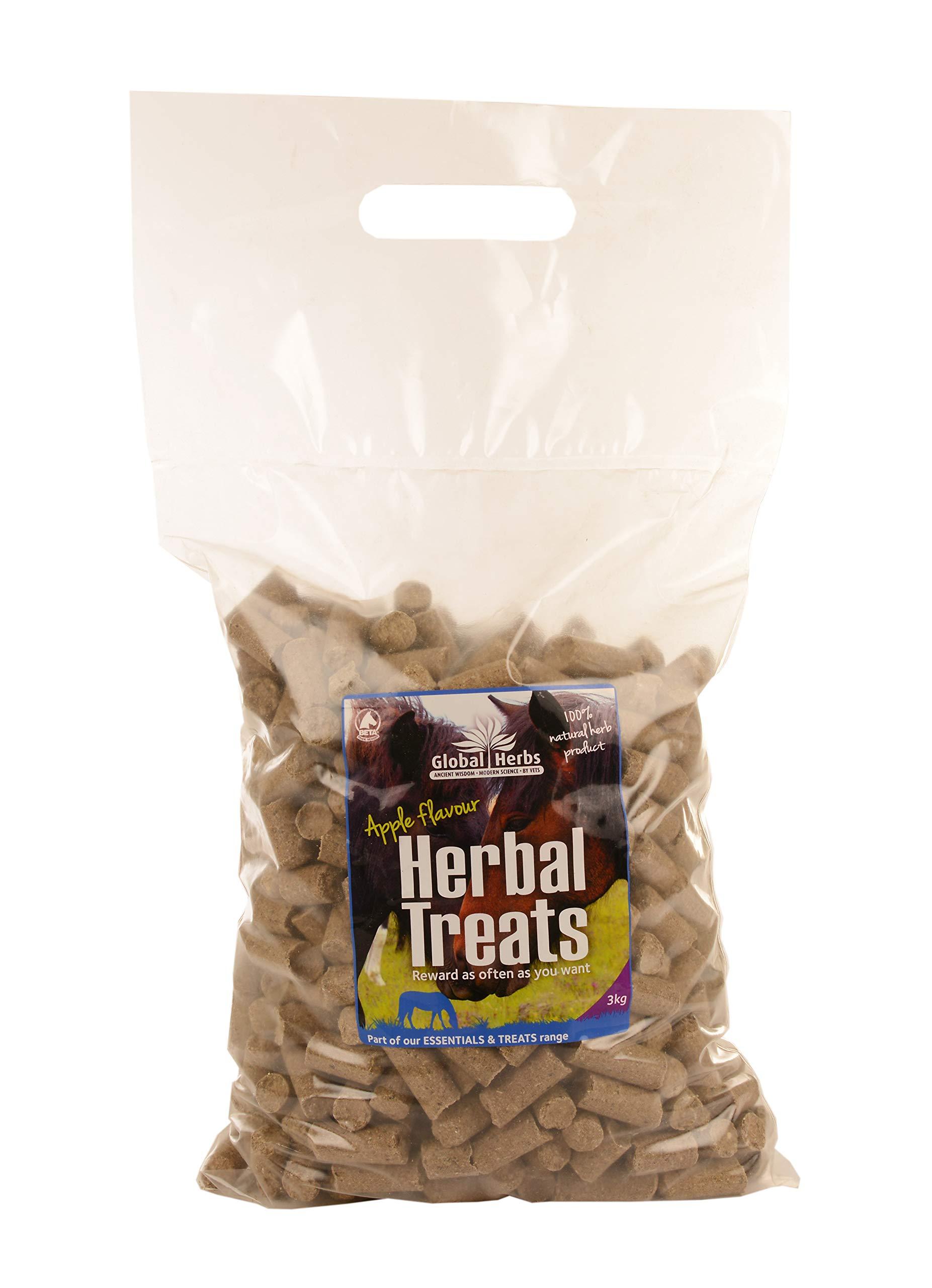 Global Herbs Herbal Apple 3kg Horse Treats 3kg Brown by 3L Global Herbs