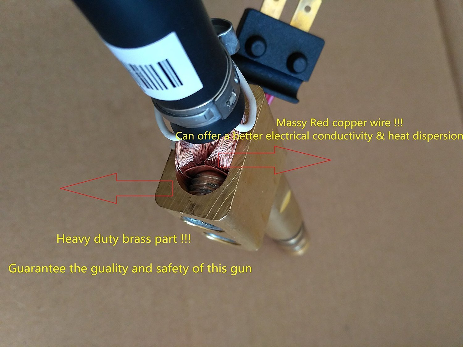 MIG WELDING GUN &TORCH 15' 250AMP replacement for LINCOLN Magnum 250L (ETA:5-10 WORK DAYS) by CYMPOLLIA2016 (Image #2)