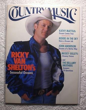 Ricky Van Shelton Country Music Magazine Mayjune 1989 No