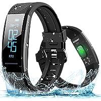 ELEGIANT Pulsera de Actividad Inteligente Reloj Deportivo IP67 para Hombre Mujer con GPS Monitor de Sueño Podómetro…