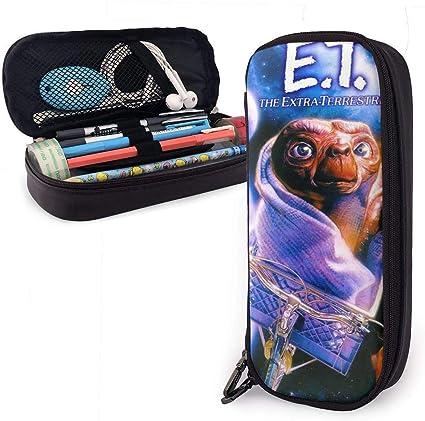 E.T. El titular de la pluma Stylus Hard Shell EVA de color negro extraterrestre para pluma estilográfica ejecutiva, bolígrafo: Amazon.es: Oficina y papelería
