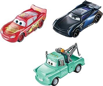 Disney Cars Pixar Pack 3 Rayo Mcqueen/Mate/Jackson Storm Cambio Color Cars (Mattel GPB03): Amazon.es: Juguetes y juegos