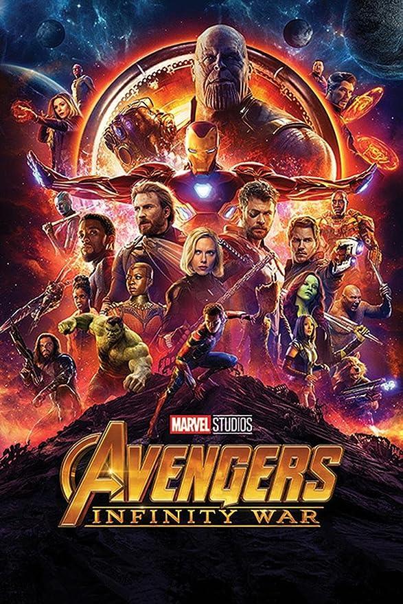 Captain Marvel Movie Poster Wall Art Maxi Print 2019 New Films Cinema-1649
