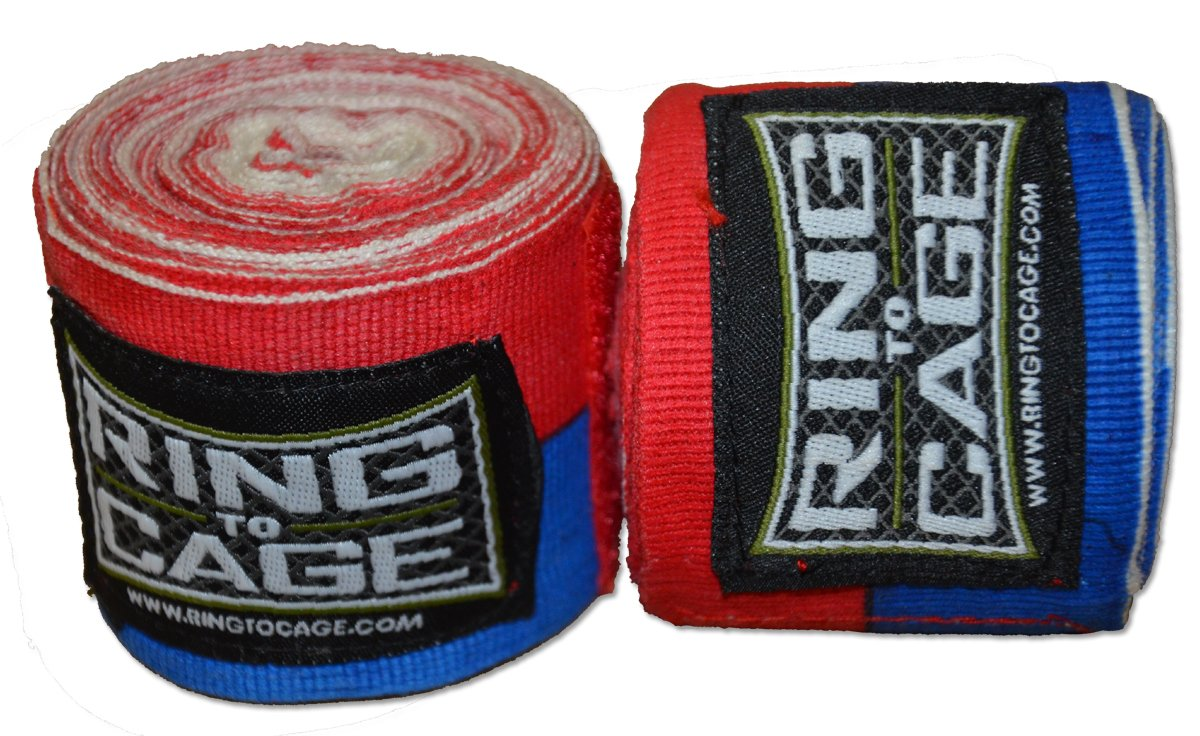 Handwraps Mexican Style stretchable-レッド/ブルー – Super Long Super Long 220 Style