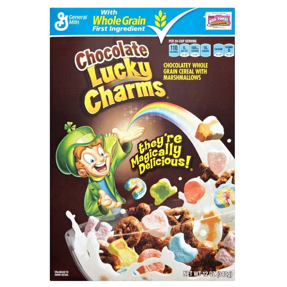 General Mills Chocolate Lucky Charms (340g)