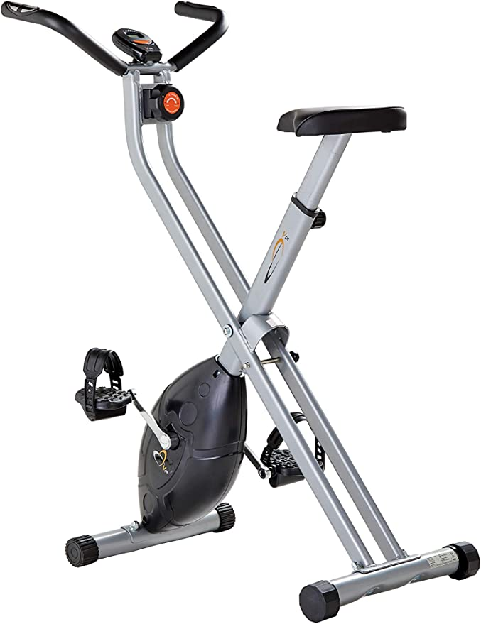 V-Fit MXC1 Folding - Bicicleta estática plegable con resistencia ...