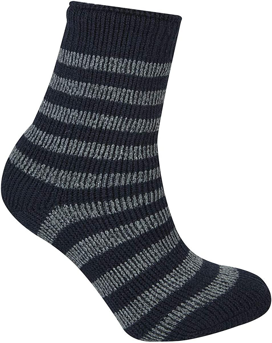 Mixed Pack Thick Knit Warm High Performance Boys Winter Socks Girls Kids Thermal Socks 2.45 Tog Comfortable