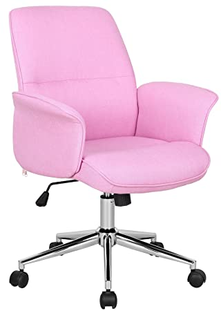 Office Swivel Chair Pink 0704M/3673