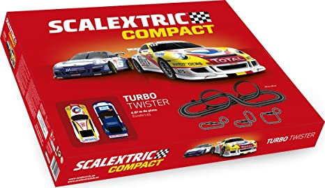 Scalextric Turbo Twister, Color Rojo (Scale Competition Xtreme C10260S500)