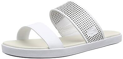 f8d689b7a3c74d Lacoste Natoy 116 4 Caw Sandals White Size  6 UK  Amazon.co.uk ...